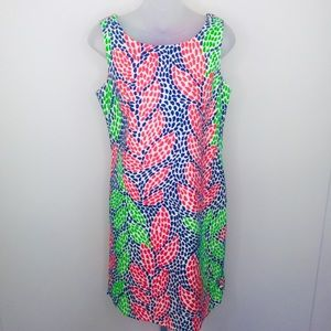 LILLY PULITZER sleeveless shift dress